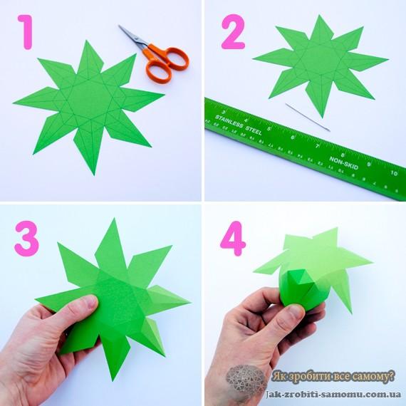 как-сделать-3D-алмаз-из-бумаги-5
