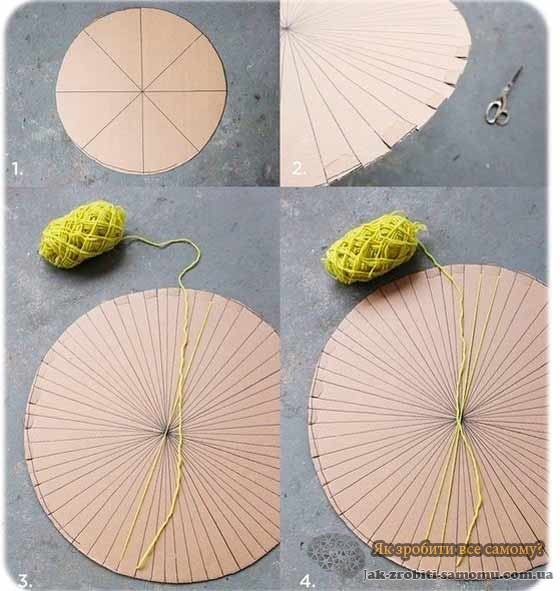 Як зробити килимок своїми руками