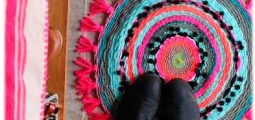 Як зробити килимок