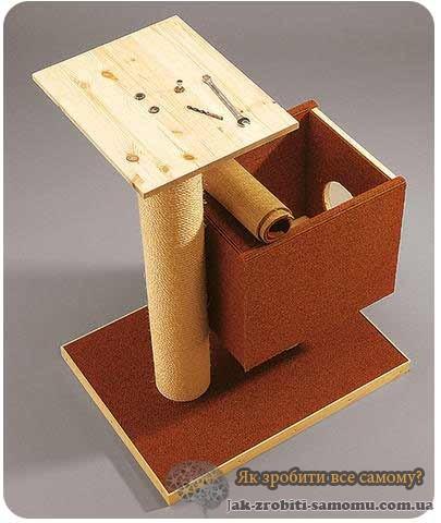 Як зробити будиночок для кішки?