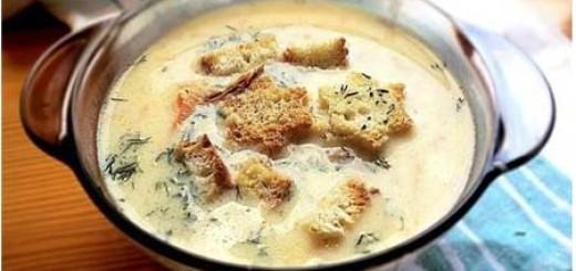 Як зробити сирний суп