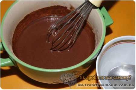 Шоколадна глазур з какао своїми руками