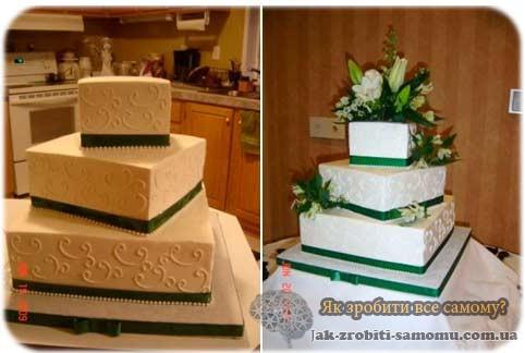 3-х ярусний торт