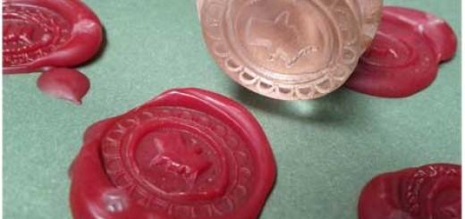 Як зробити печатку?