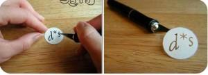 Як зробити печатку в домашніх умовах