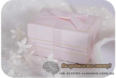 Як упакувати подарунок на весілля