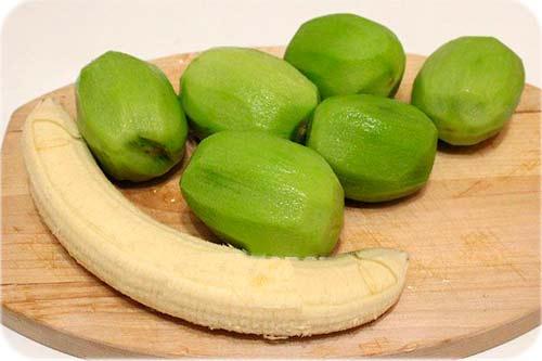 Варення з банана і ківі