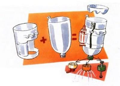 Як зробити умивальник з 5 літрової пляшки