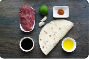 Рецепт. Фахітос з яловичини