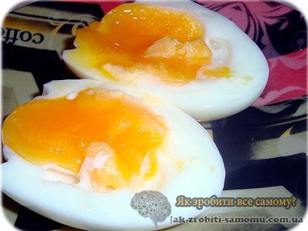 Як і скільки варити яйця в мішечку