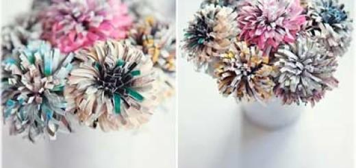 Як зробити красиві квіти з паперу