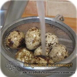 як варити перепелині яйця