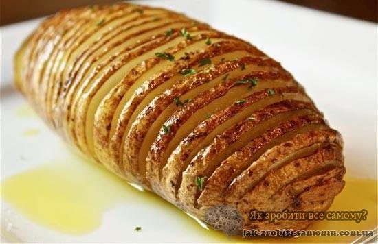 Як приготувати картоплю в мундирі