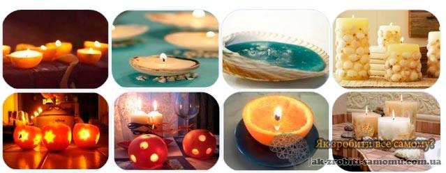 ФОТО. Декоративні свічки в шкаралупі грецького горіха