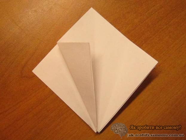 Як зробити журавлика з паперу