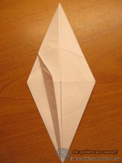 Как сделать журавлика из бумаги – пошаговая инструкция 2-7-1