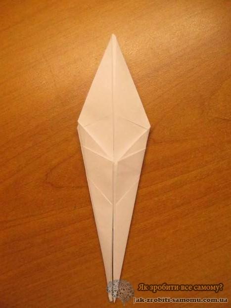 Как сделать журавлика из бумаги – пошаговая инструкция 2-7-3