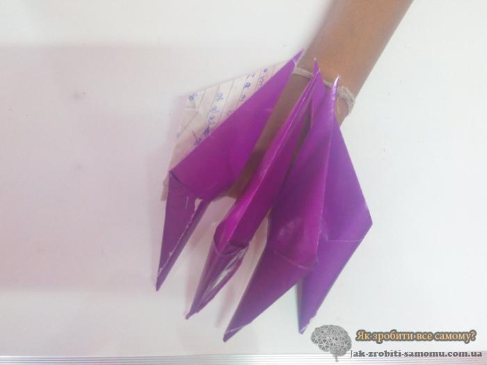 Як зробити кігті з паперу