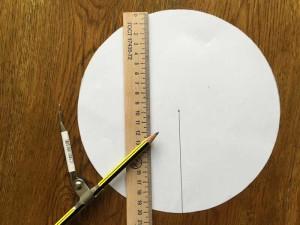 Як зробити конус з паперу
