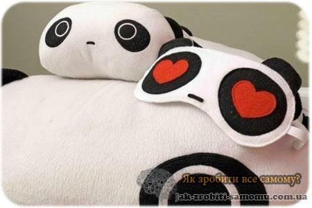 Як зробити красиву маску для сну