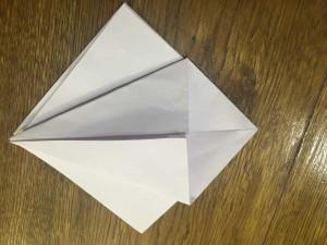 Як зробити лебедя з паперу орігамі