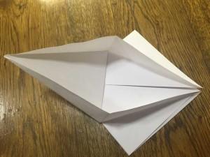 Как сделать лебедя из бумаги4-1