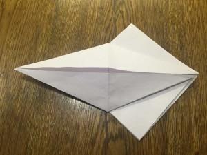 Как сделать лебедя из бумаги4-2