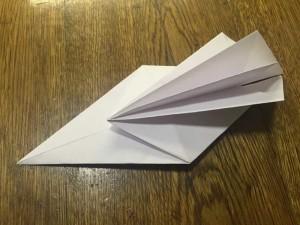 Как сделать лебедя из бумаги7-2