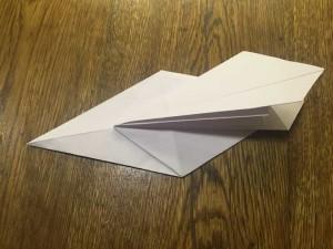 Как сделать лебедя из бумаги8-1