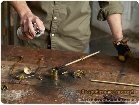 Як зробити настільну лампу своїми руками
