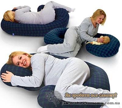 Як зробити подушку для вагітних