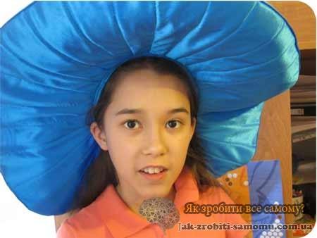 Як зробити капелюх Незнайки