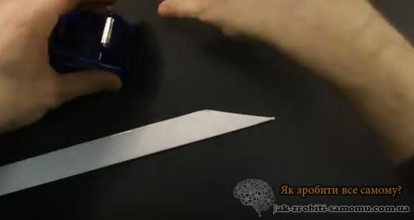 Як зробити кігті з паперу на пальці