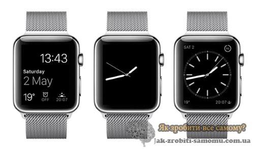 Використання чорних кольорів AppleWatch