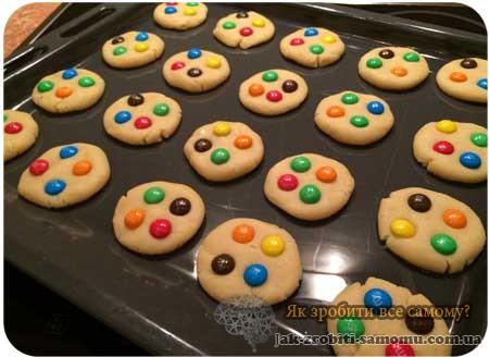 Як приготувати американське печиво
