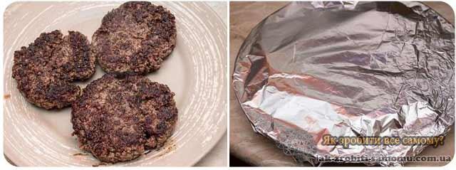 Як зробити бургер