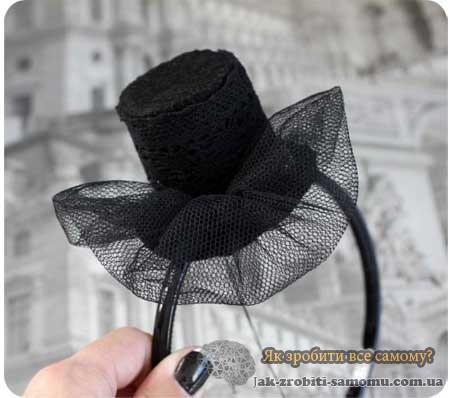 Як зробити капелюх для дівчинки