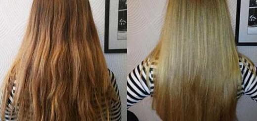 Як зробити ламінування волосся желатином