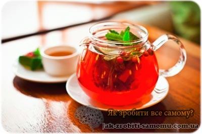 Як зробити чай своїми руками