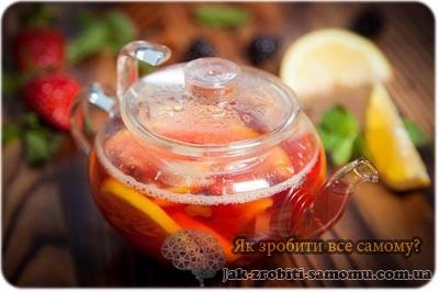 Чай «Гарячий цитрус».