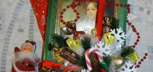 Як оформити коробку цукерок до Нового Року?