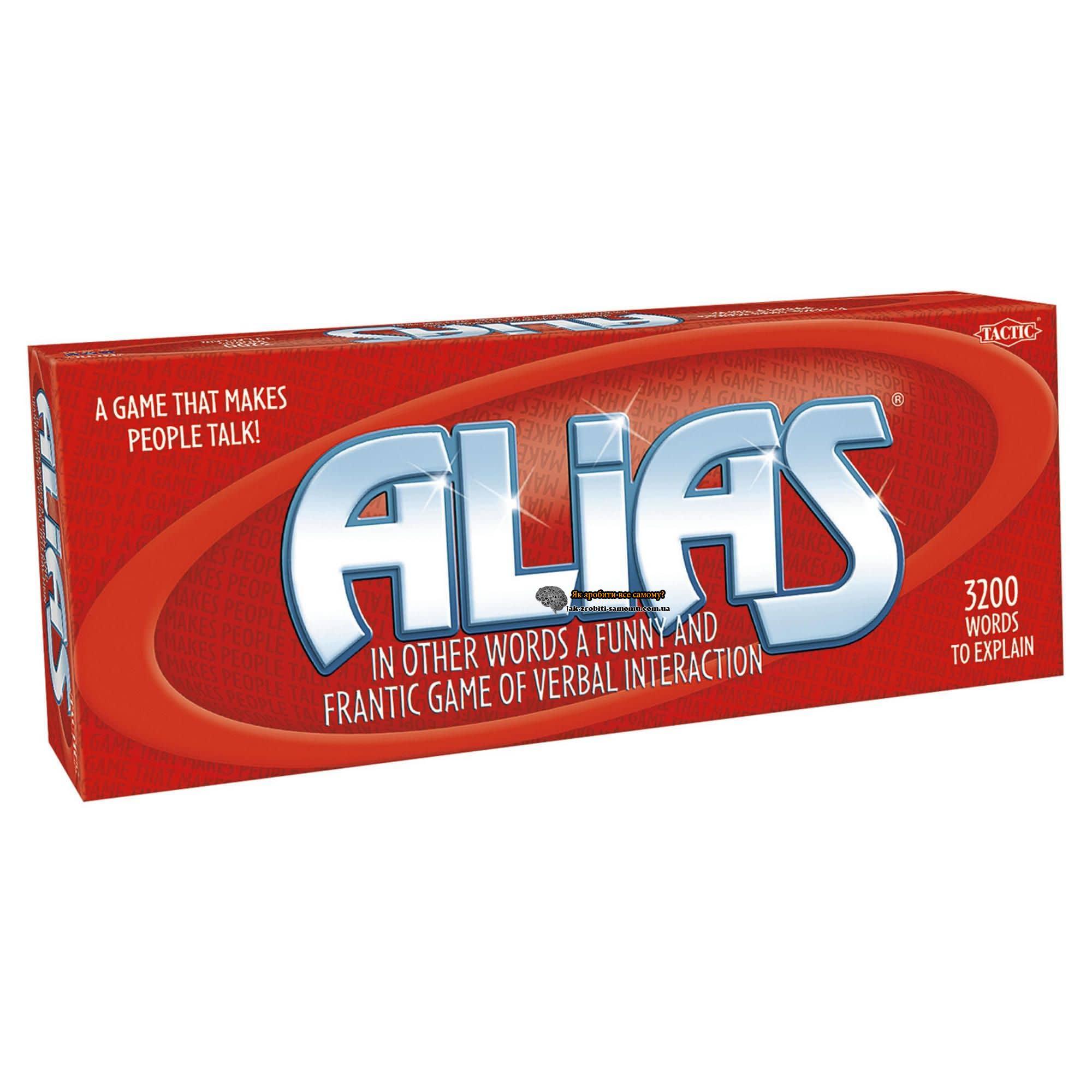 Класична настільна гра Alias