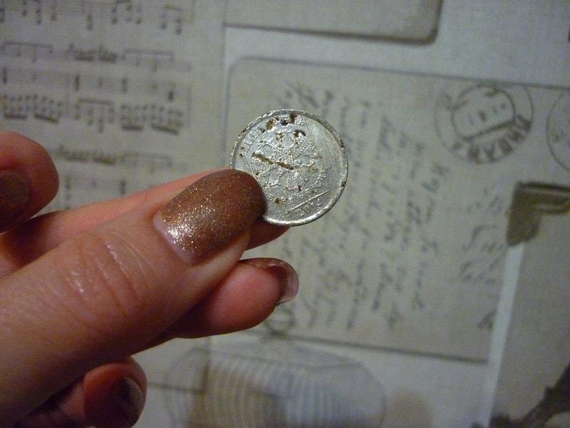 Як очистити монету від іржі