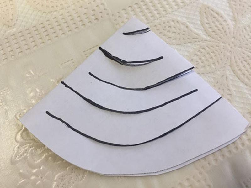 Як зробити гірлянду з паперу