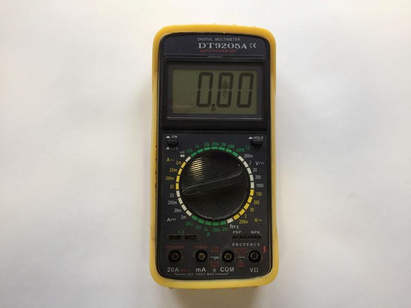 Мультиметр для будинку