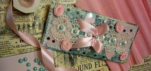 Як зробити романтичний конверт?