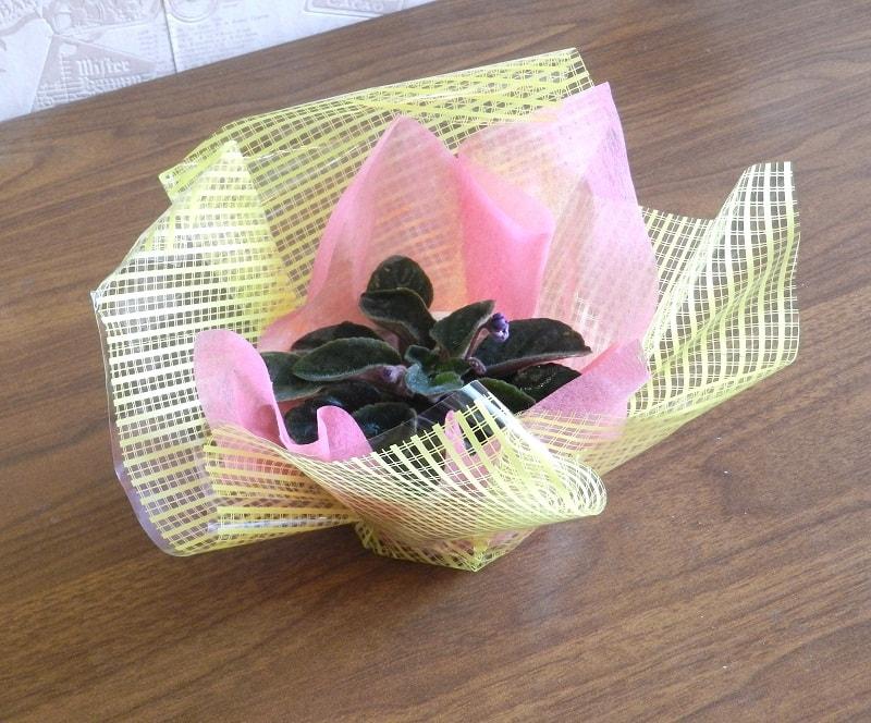 Як упакувати квіти