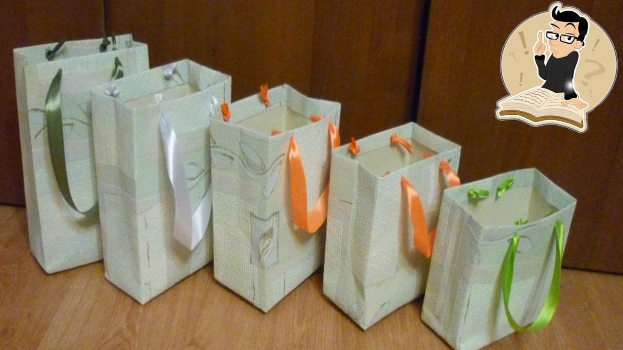 Як зробити пакет з паперу своїми руками?