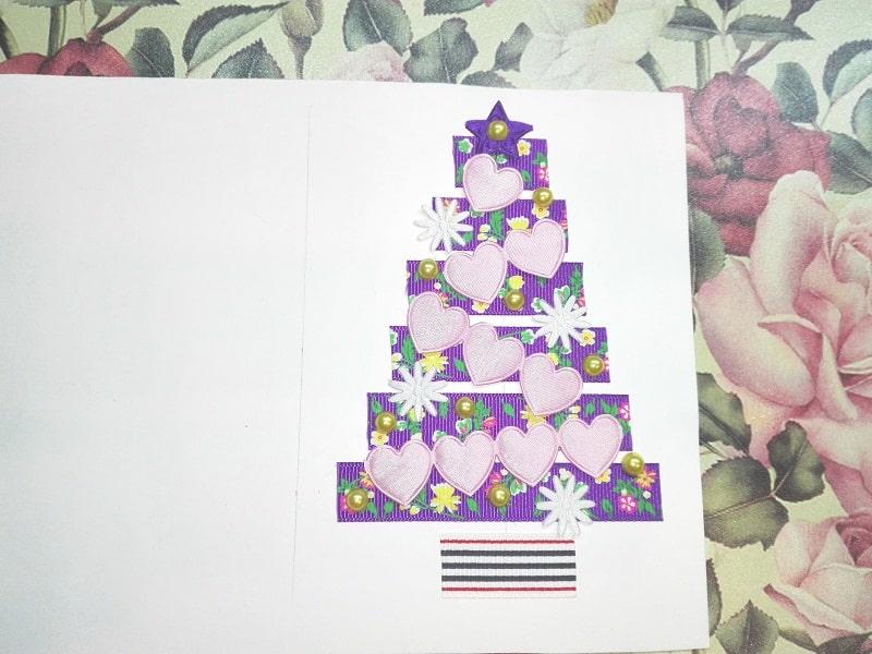 Новорічні листівки своїми руками.